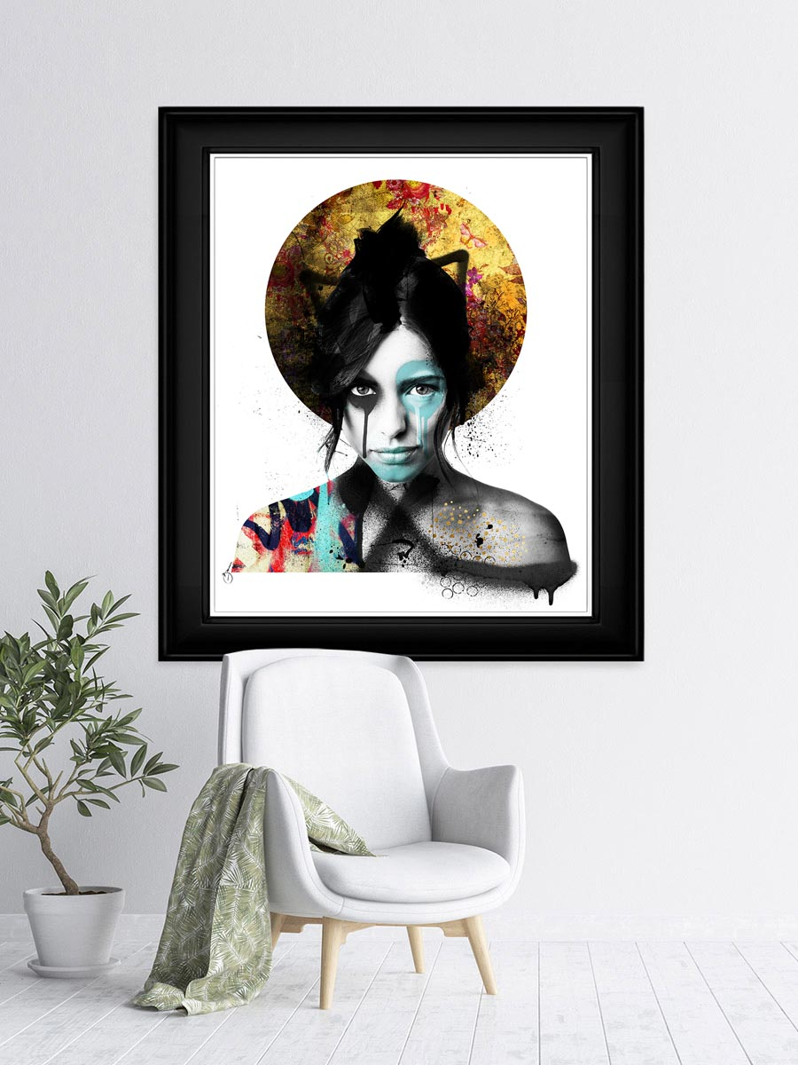 Shisei Gold limited edition print