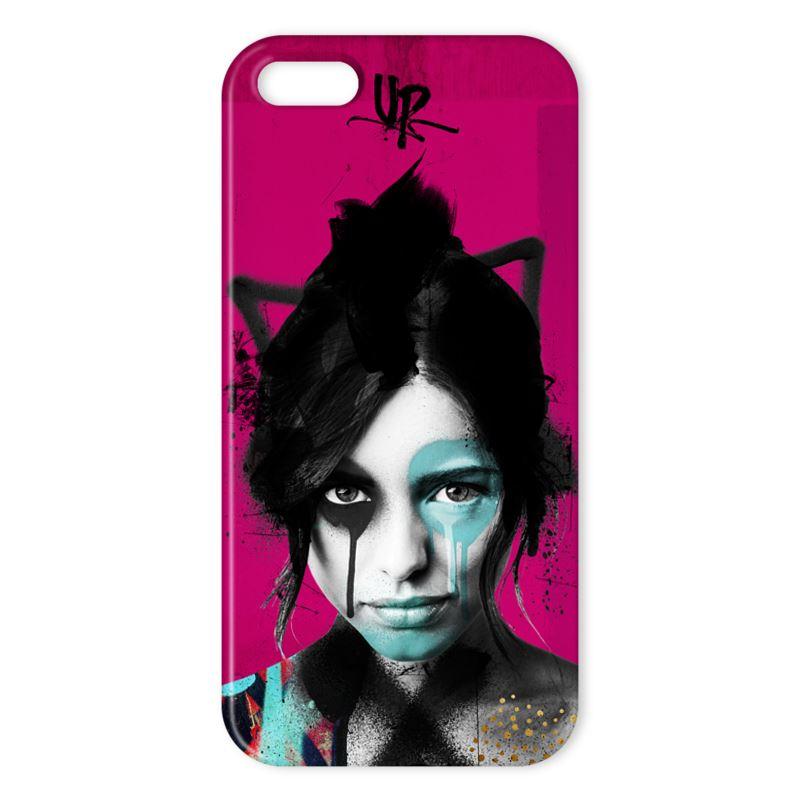 Urban Punkz iPhone X Case Dark Pink