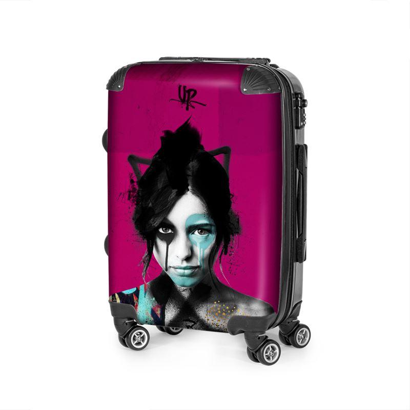 Urban Punkz Shisei Violet Suitcase