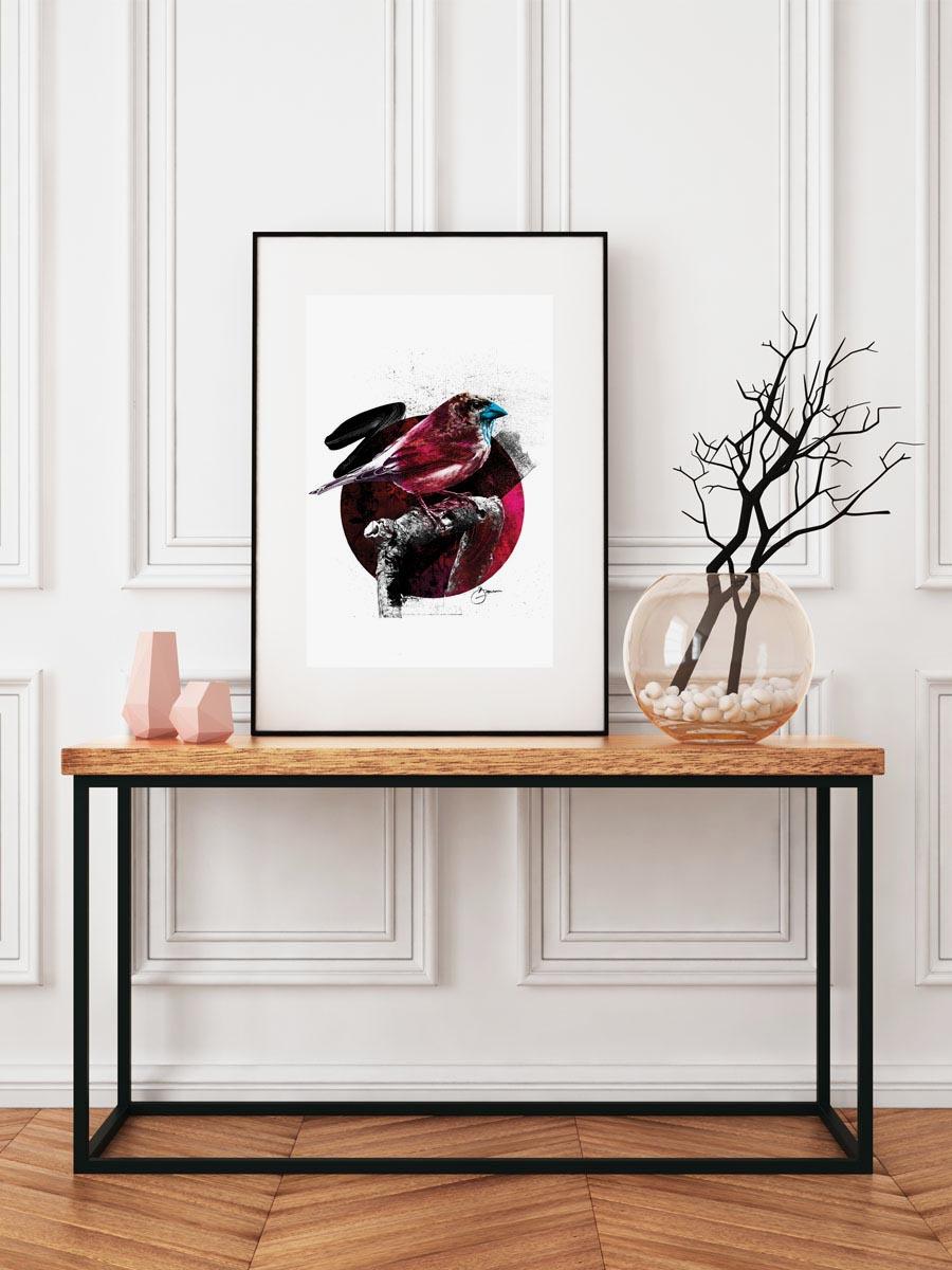 Bird I Framed