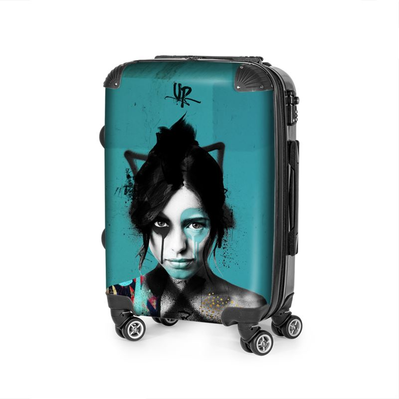 Urban Punkz Shisei Turquoise Suitcase