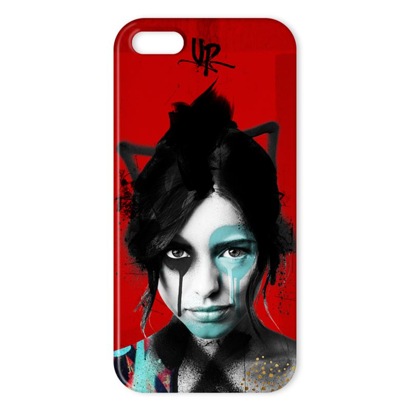 Urban Punkz iPhone X Case Dark Red