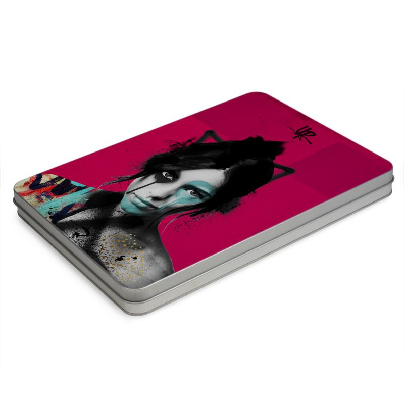 Urban Punkz Shisei pink metal pencil case box