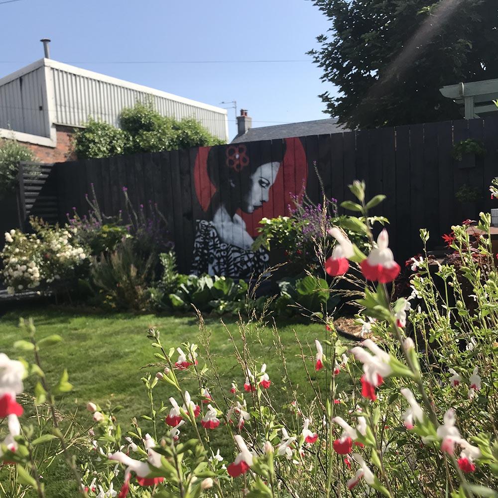Garden gets the Urban Punkz effect