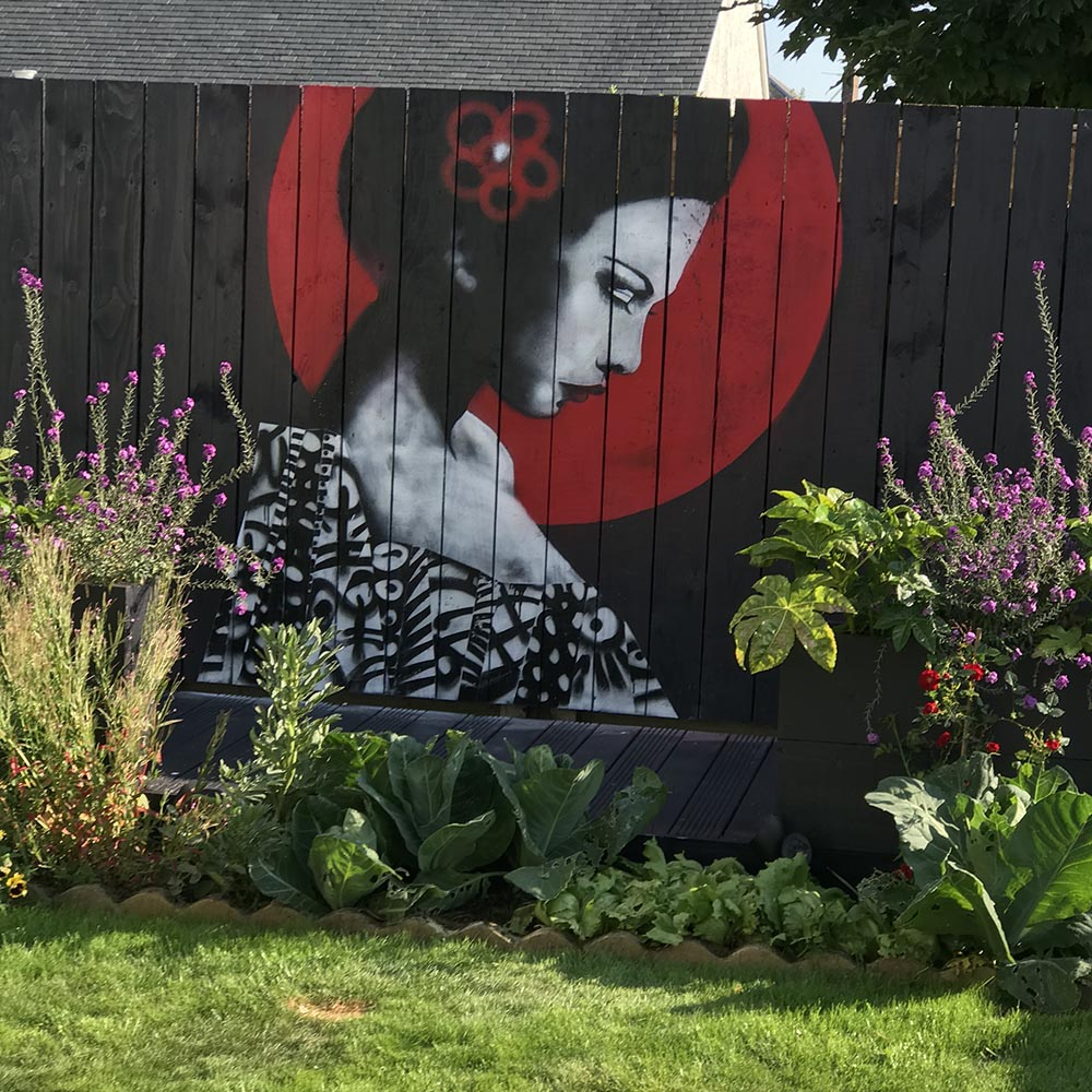 Urban Punkz Mural Prestwick