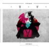 Kibo Wallpaper by Design Gordon Brown at Urban Punkz