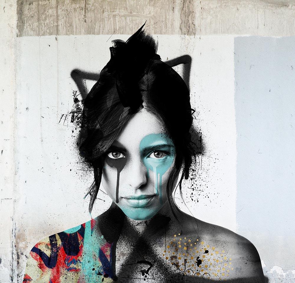 Shisei Mural Wallpaper from Urban Punkz